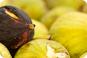Rhodes has quite a few fig trees and you can probably find local figs at the market