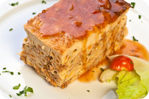 Greek Pastitsio dish