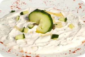Greek Tzatziki appetizer
